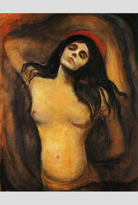 Madonna, 1894 by Edvard Munch