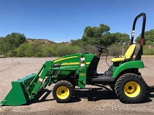 John Deere 2305 Compact Utility Tractor Service Technical