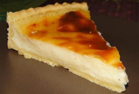 tarte au flan aur 233 lie cuisine