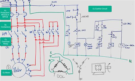 The Beginner Guide Wiring Star Delta Circuit