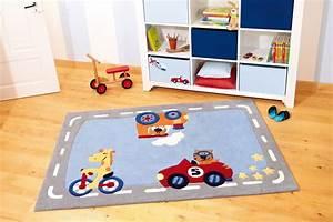 tapis de chambre enfant happy street traffic 1 sigikid With tapis chambre enfant