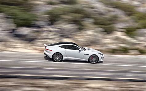 2018 Jaguar F Type R Coupe Polaris White Motion 7