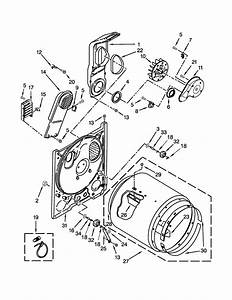 Amana Model Ned4655ew0 Residential Dryer Genuine Parts