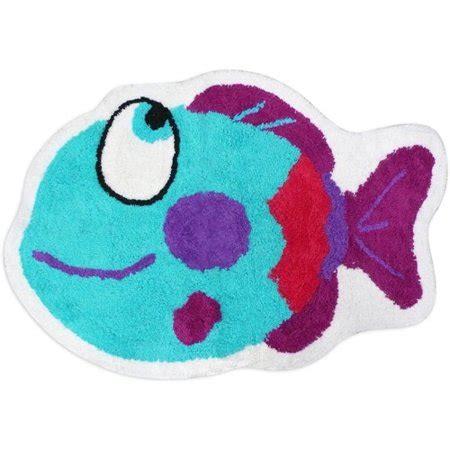 somethings fishy bath rug walmartcom