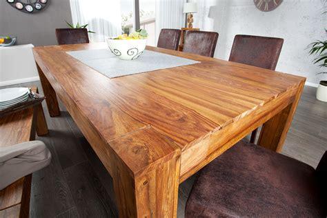 tisch ausziehbar holz massiv esstisch makassar sheesham 200 280 ausziehbar holz tisch massivholz ebay