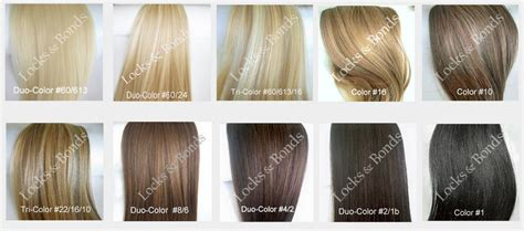 Hair Color Shades Of Chart by Hair Color Shades Chart Favorable