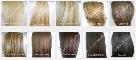 Shades Hair Chart by Hair Color Shades Chart Favorable Medium Hair