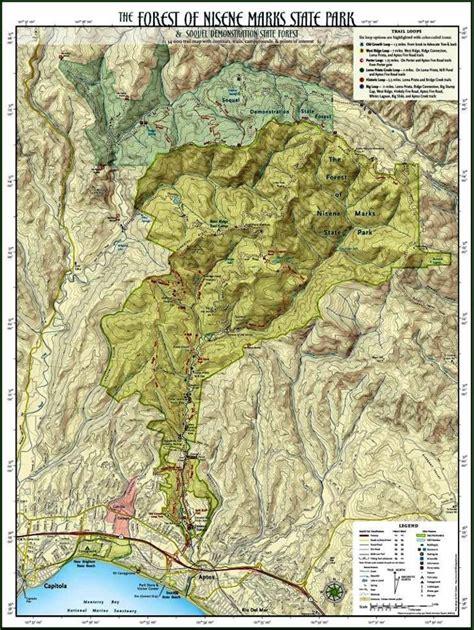 map   forest  nisene marks