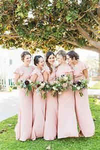 rustic romance at california wedding modwedding With outdoor wedding bridesmaid dresses