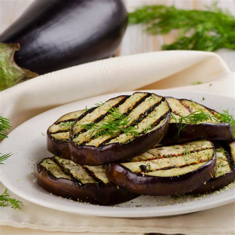 recette tranches daubergine grillee au barbecue facile