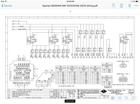 Freightliner Motorhome Chassi Wiring Diagram by Newmar Rv Wiring Diagrams Engine Wiring Diagram Images