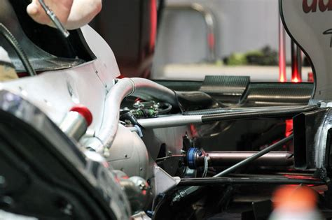 Posted on october 21, 2011 by scarbsf1. Close-up of the Mercedes F-duct around the engine : formula1