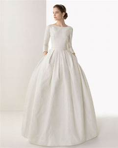 25 long sleeve wedding dresses you will fall in love with With high neck wedding dress with sleeves
