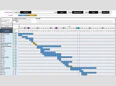 Excel Calendar Gantt Chart Template calendar template excel