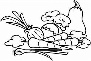 Vegetables Coloring Pictures Clipart Panda Free Clipart Images