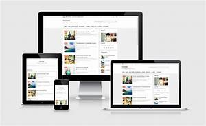ivision responsive blogger template free by ep With invision templates