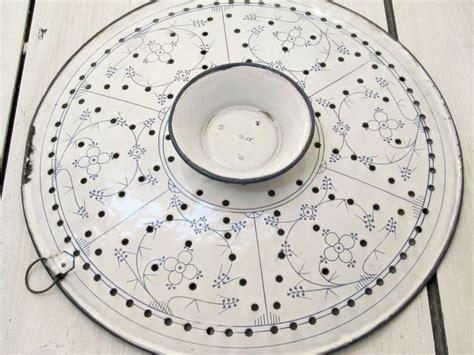 Emaille Geschirr Antik by Antike Etagere Ausk 252 Hlplatte Pfannkuchen Email Antik