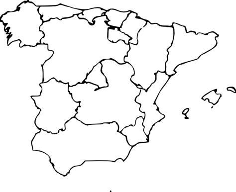 map  spain clip art  clkercom vector clip art