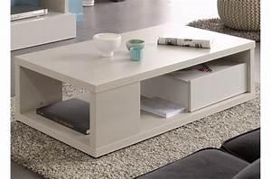 Table Basse Moderne : table basse moderne bois 1 tiroir ~ Preciouscoupons.com Idées de Décoration