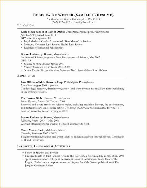 6 curriculum vitae templates free sles exles