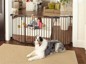 comparing the best extra wide pet gates in 2017 pet gate pro With extra wide dog gates