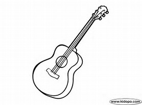 HD Wallpapers Printable Coloring Pages Guitars