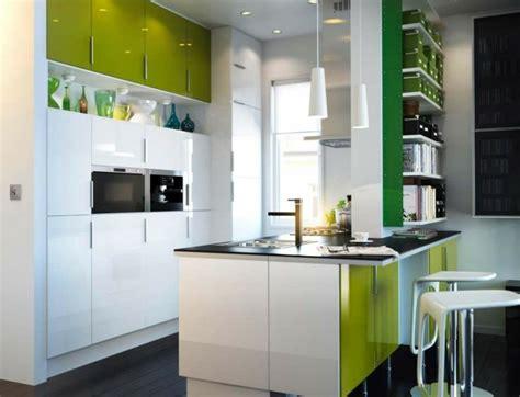 cuisine blanche et verte cuisine verte un espace relaxant et créatif