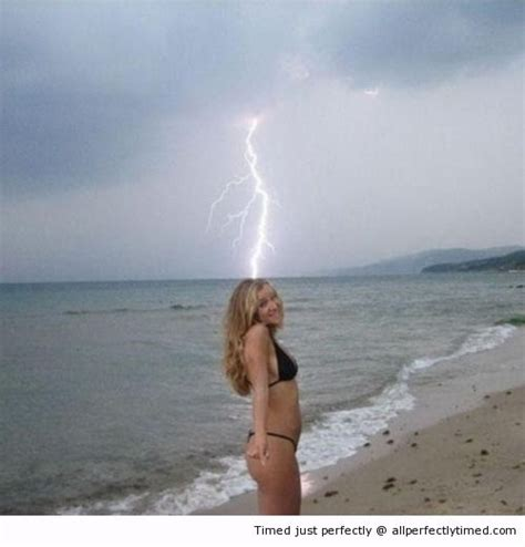 Literally Being Struck By Lightning  She Is Like A