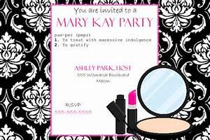 mary kay party clip art 36 With mary kay invite templates