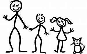 Stick Figure Family Of 5 People | www.imgkid.com - The ...