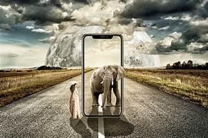 Iphone X Surreal Elephant · Free photo on Pixabay