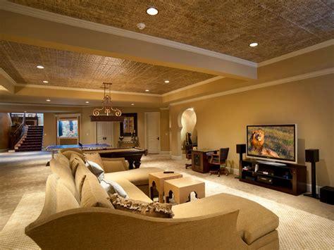 price to finish a basement basement remodel splurge vs save hgtv