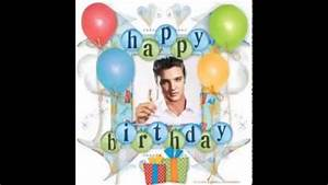 Elvis Presley Sings Happy Birthday - YouTube