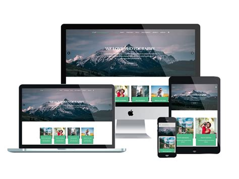 responsive template et photography free responsive joomla photography template