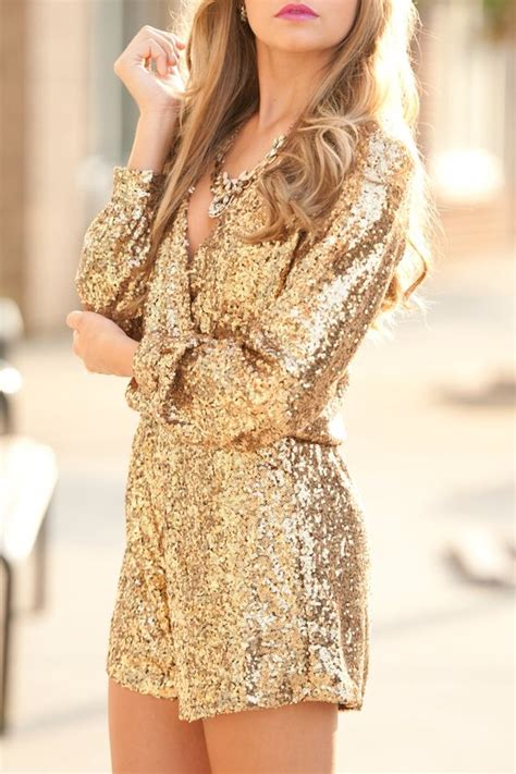 Short Gold Dresses for Glamorous Women u2013 Designers Outfits ...