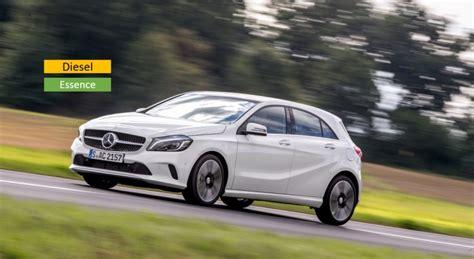 si鑒e auto class plus mercedes classe a essence ou diesel auto moto magazine auto et moto