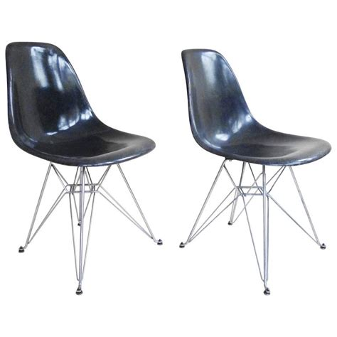 charles and eames dsr fiberglass side chairs quot eiffel