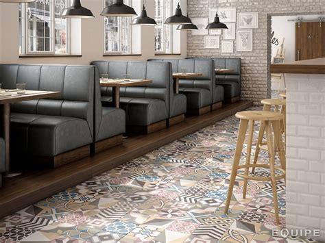 carrelage sol salle de bain cuisine et terrasse c ciment imitation patchwork colours 20x20