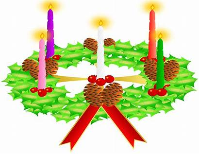 Advent Wreath Crown Clipart Corona Adviento Svg