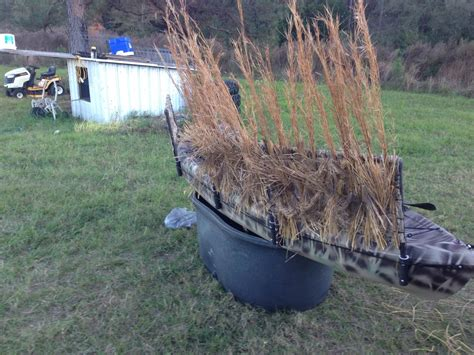 Duck Hunter Boat Build by Kayak Blind Build Waterfowl Hunting Dogs And Duck Calls