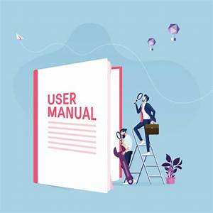 User Manual Illustrations  Royalty