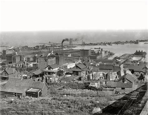 Shorpy Historic Picture Archive :: Duluth Again: 1905 high ...
