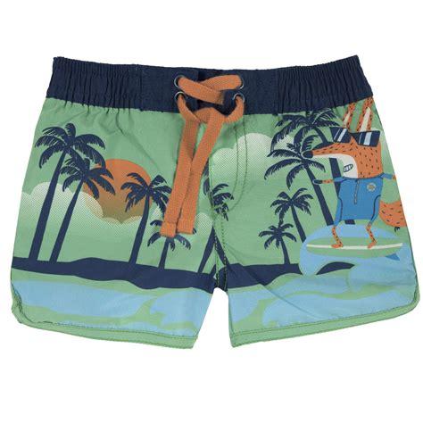 CHICCO Peldšorti, zaļi ar lapsu - Pludmales apģērbs - Outlet