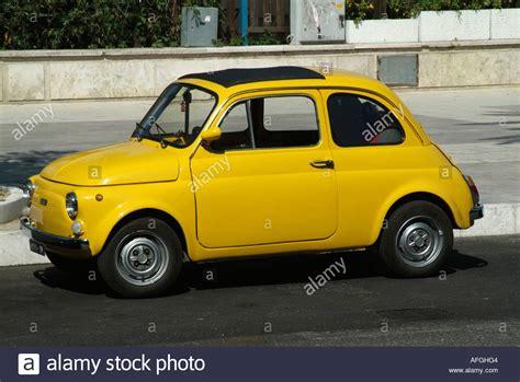 Small Fiat Car by Fiat 500 Car City Small Cars Tiny Italian Cars