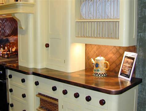kitchen backsplash with white countertops copper backsplashes custom 7717