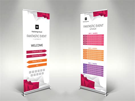 event roll  banner template themzy templates