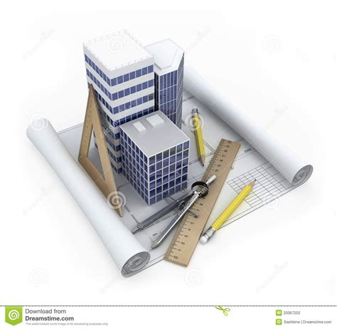 free a frame house plans building development concept stock photography image