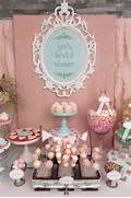 Vintage Shabby Chic Bridal Wedding Shower Party Ideas Photo 24 Of 54 Dessert Tables Wedding Dessert Tables And Scrabble On Pinterest Shabby Chic Bridal Shower Dessert Table Together In A Floral Pattern Create A Vintage Feel At A Dessert Table