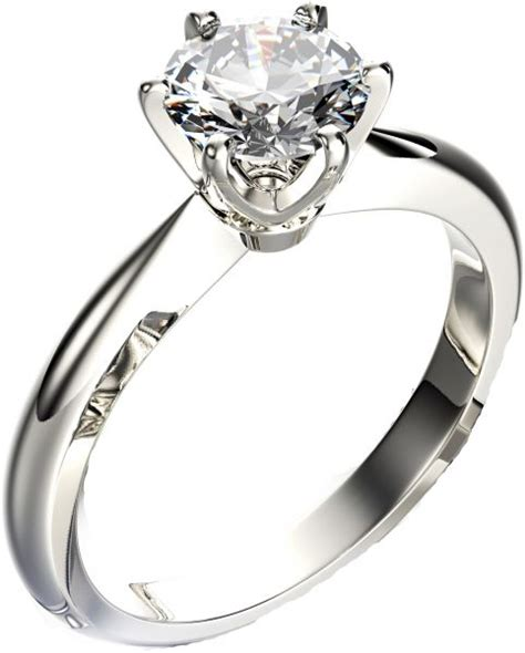 18k gold and 0 25 ct solitaire diamond engagement ring