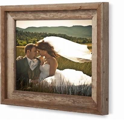 Framed Wood Barnwood Metalprints Metal Frame Rustic